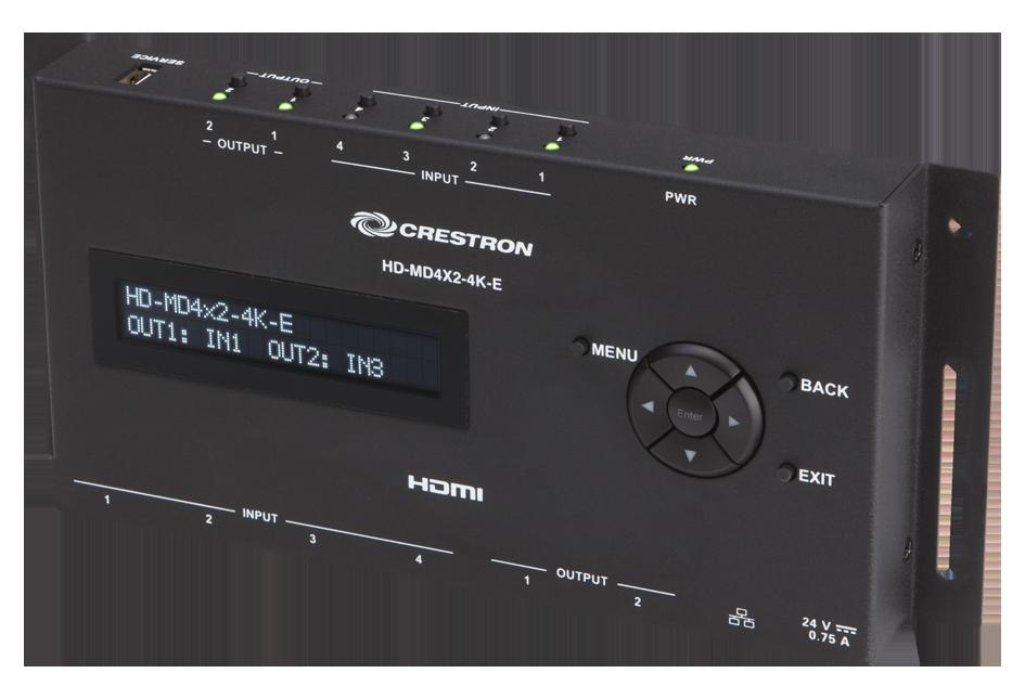 Crestron Hd Md4x2 4k E