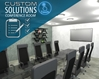 One Touch Custom Solution Conference Room conference room, collaboration, video conference, conference calls, meeting room, audio, video, media room, design, consultation, installation