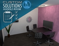 One Touch Custom Solution Huddle Room