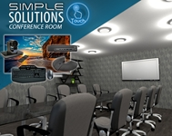 Simple Solution Conference Room conference room, collaboration, video conference, conference calls, meeting room, audio, video, media room